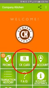 CK Homepage Tabs